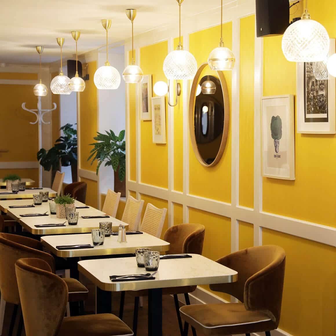 Ambiance salle de restaurant - granville - decoration interieur - 05