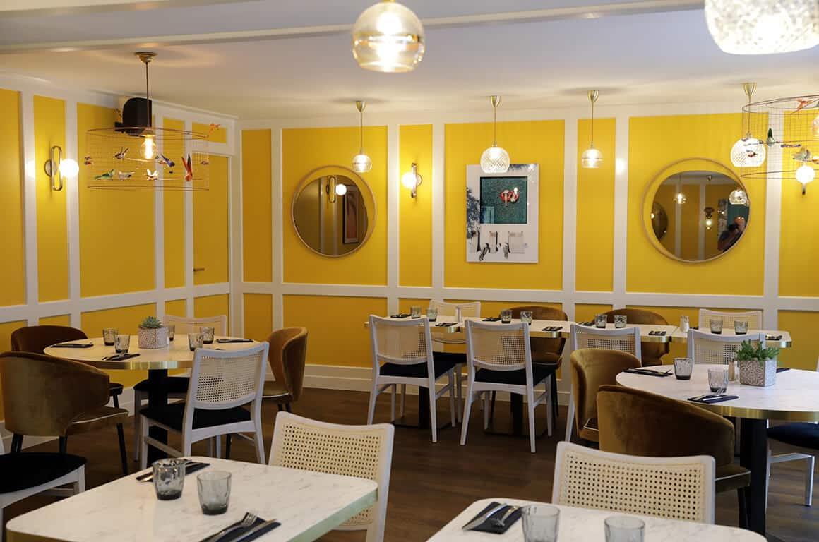 Brasserie granvillaise historique - granville - decoration interieur - 06