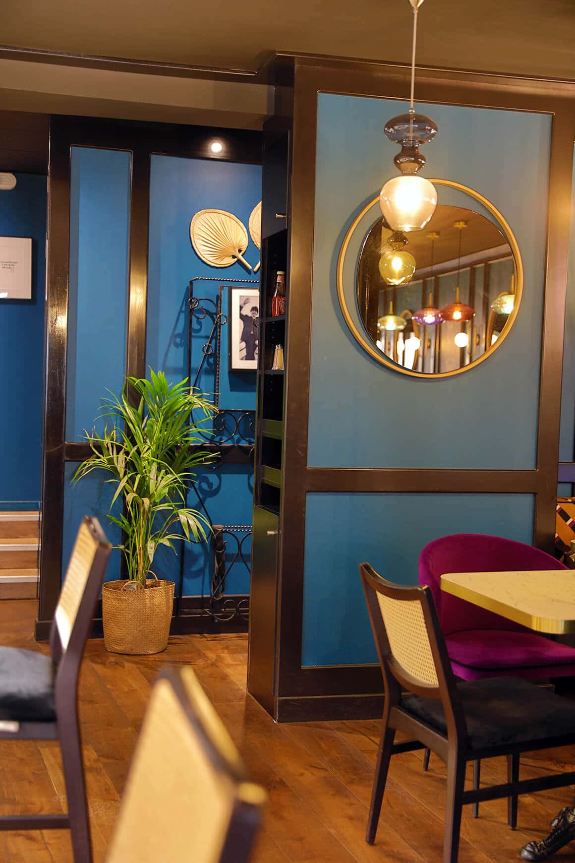 Brasserie granvillaise historique - granville - decoration interieur - 08