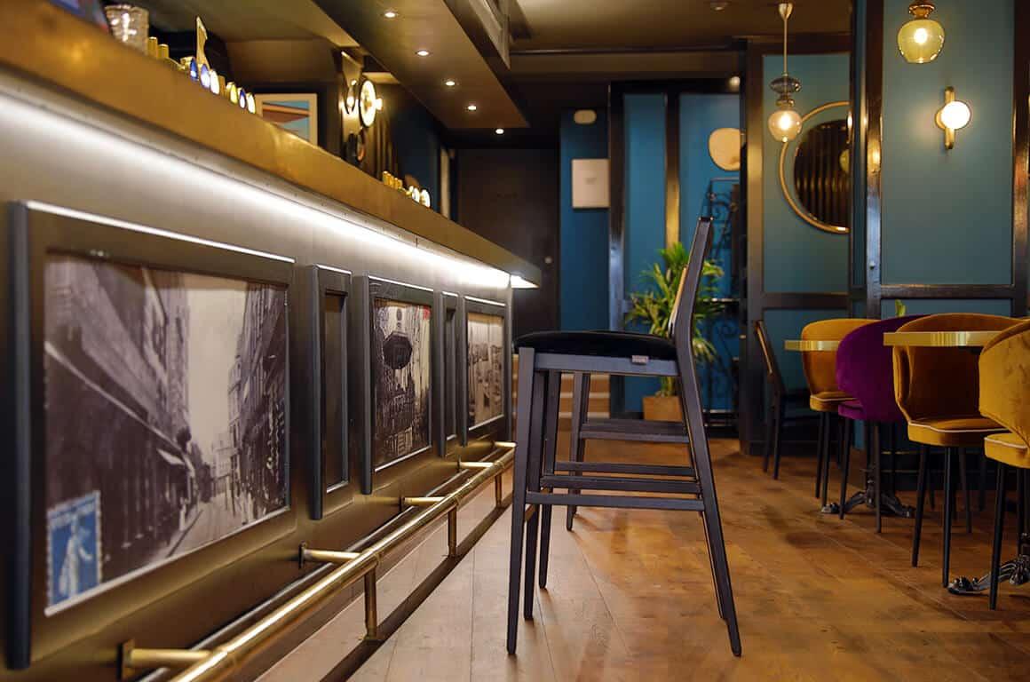 Brasserie granvillaise historique - granville - decoration interieur - 12