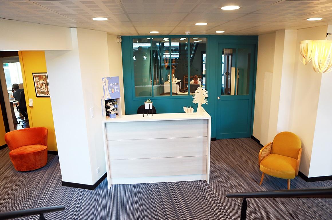 Bureaux SAS Blanchet - Avranches - Décoration d'interieur - 08
