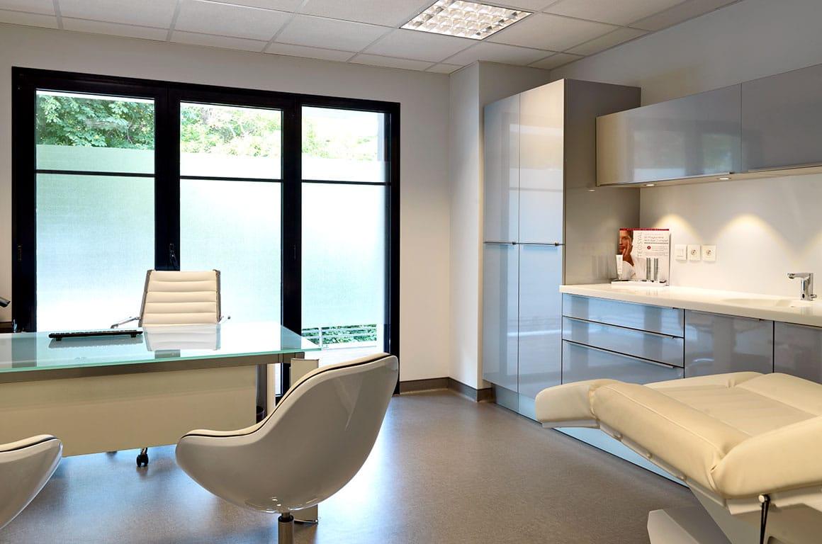 Cabinet de dermatologie, minimaliste - granville - décoration d'intérieur