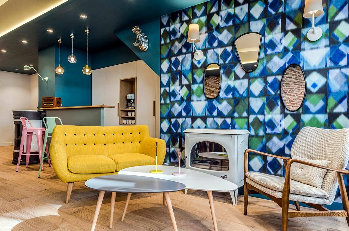 Entreprise Briens, industriel vintage - Granville - décoration intérieur