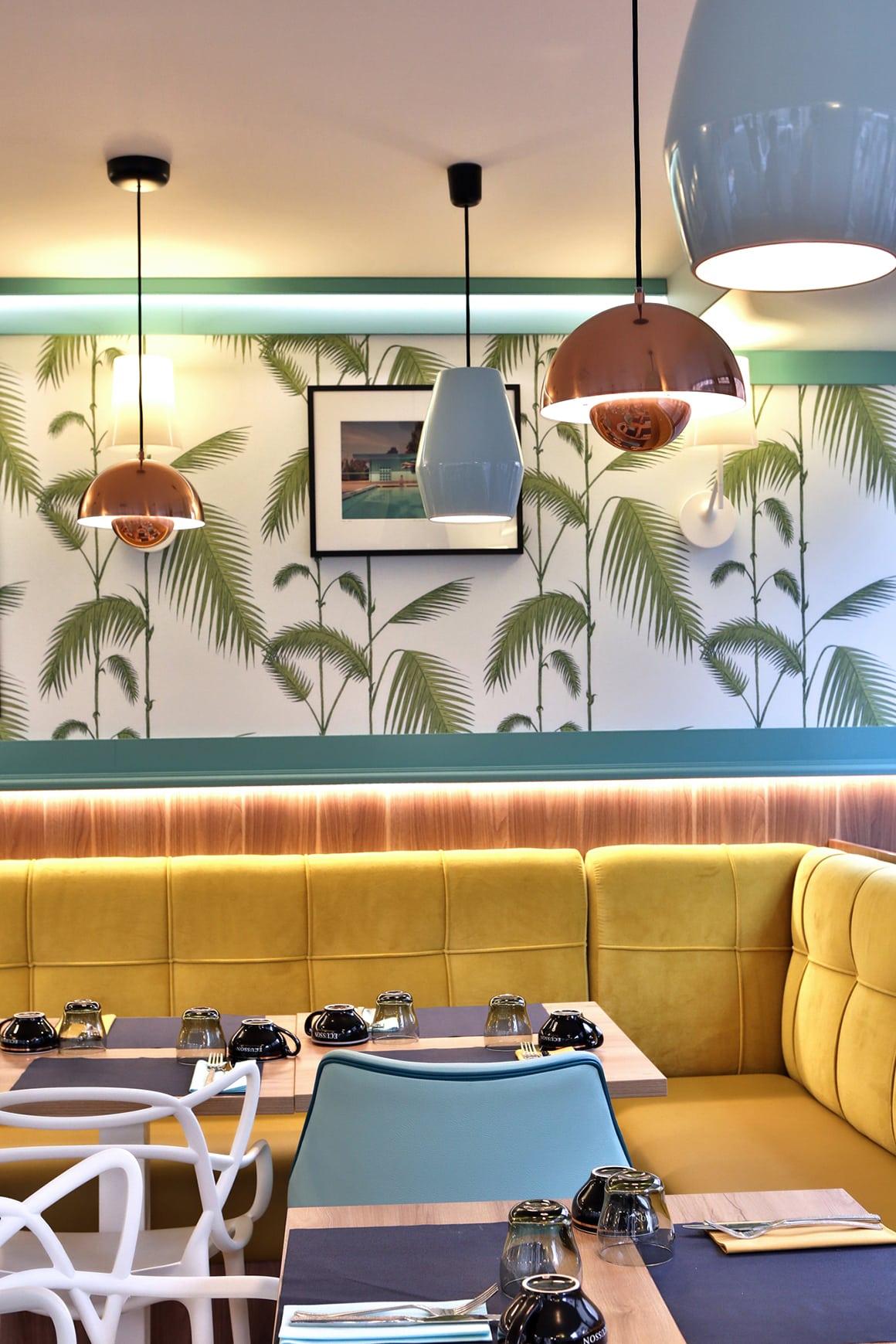 La Bolée, american retro - Granville - décoration d'intérieur