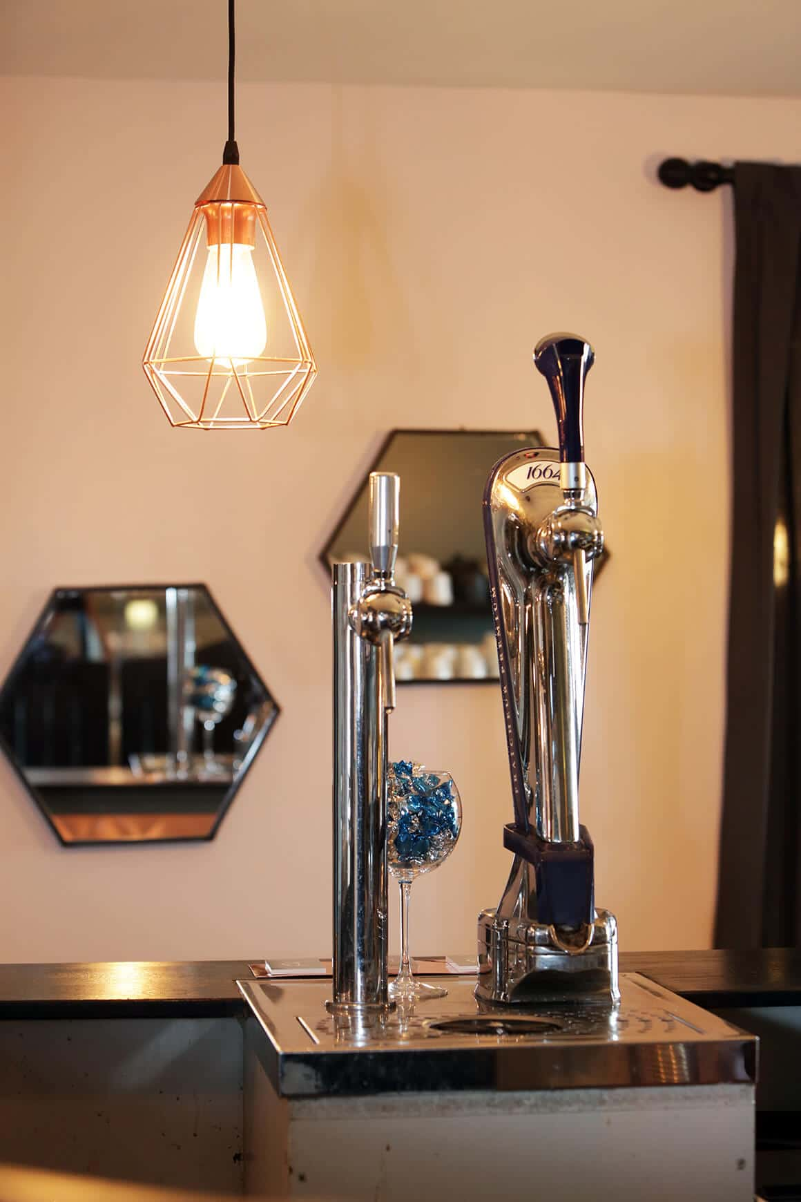 Les Bruyeres, redesign d'un restaurant - granville - decoration d'intérieur