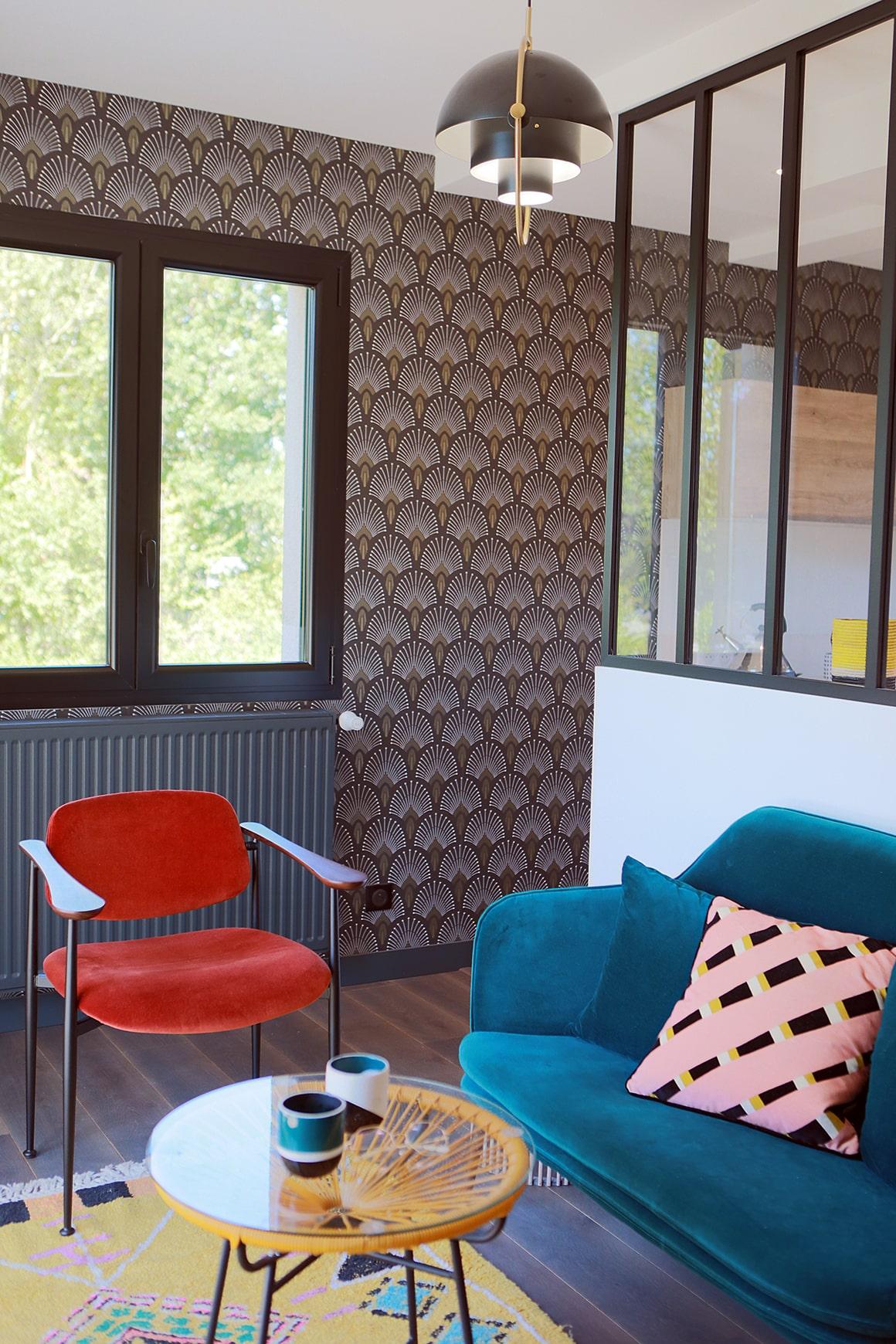 Maison typique fin des années 80 - Granville - décoration d'intérieur - 03