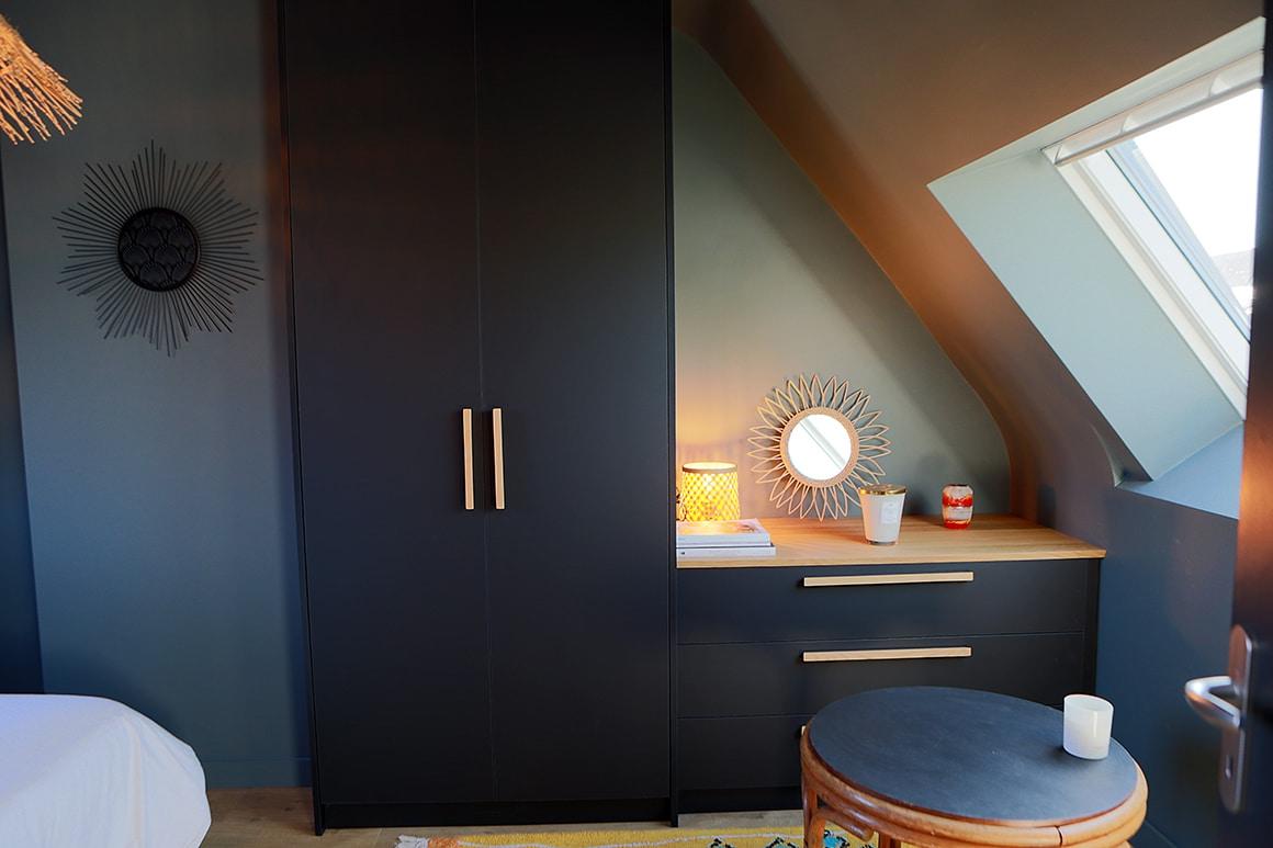 Rénovation d'une résidence secondaire des années 60 - Le clos normand - Jullouville - décoration d'intérieur - 12